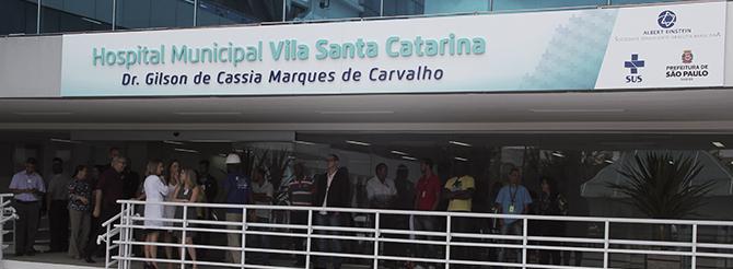 hospital municipal vila santa catarinasobre a unidade