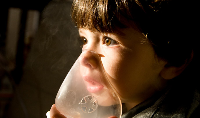 Você sabia que asma atinge 15% das crianças brasileiras?